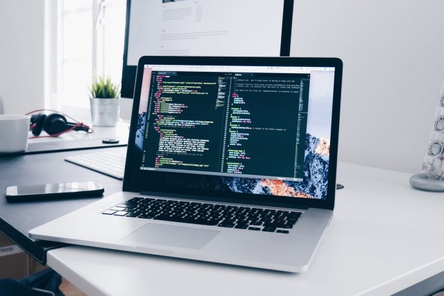 Laptop tech remote work Photo by Christopher Gower on Unsplash
