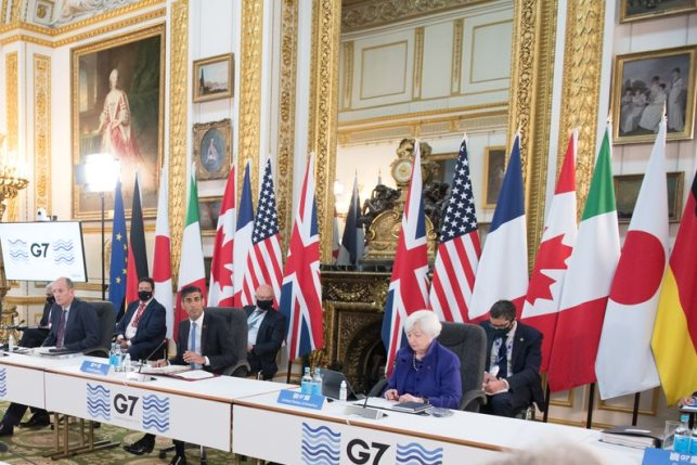 G7 Finance Ministers 2021