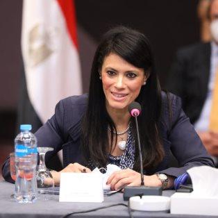 Minister of International Cooperation Rania Al Mashat